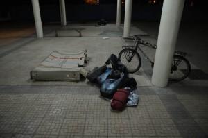 Min cykel på Bamakos flygplats